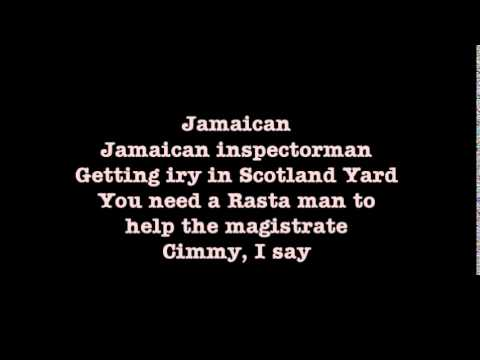 Psych: The Musical - Jamaican Inspector (17.) with lyrics