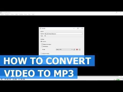 How To Convert Video (MP4,MKV,AVI,FLV) To MP3 Using VLC Media Player