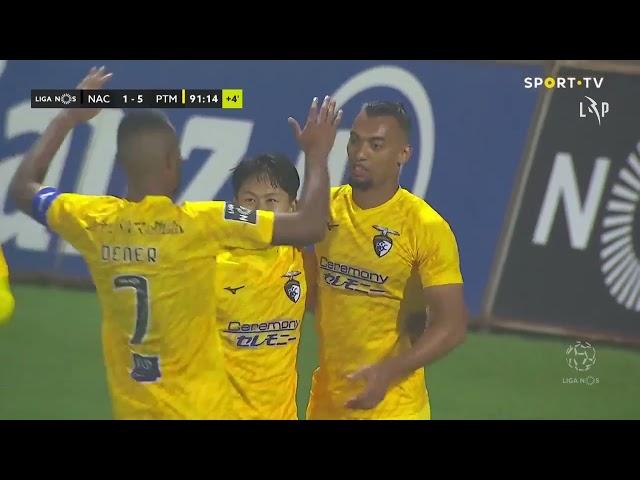 Goal | Golo Fabricio: CD Nacional 1-(5) Portimonense (Liga 20/21 #25)