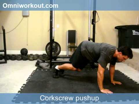 Push Up Series Volume 62: Corkscrew Push Up - YouTube