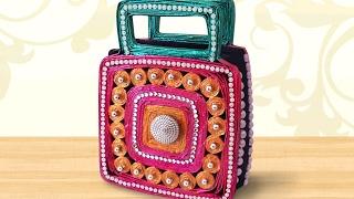 DIY Newspaper Crafts : How to Make Innovative Newspaper Handbag | StylEnrich