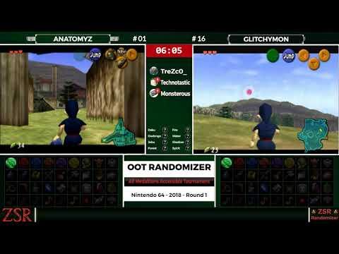 OoT Randomizer Tournament: Round 1 - atz vs  Glitchymon