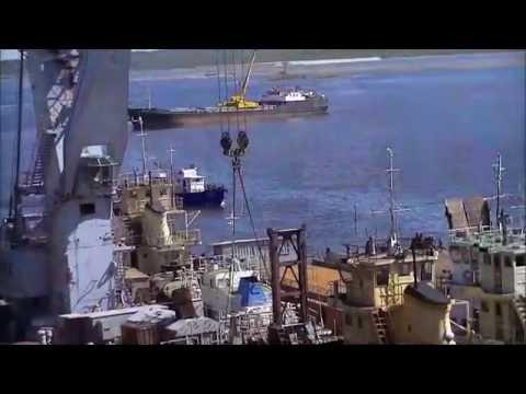 О РЕЧНОМ ФЛОТЕ. Клип. T.Kardapolov - About river fleet. Song. новинка(HD)