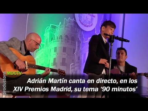 Adrián Martín canta en directo su tema 90 Minutos mp3