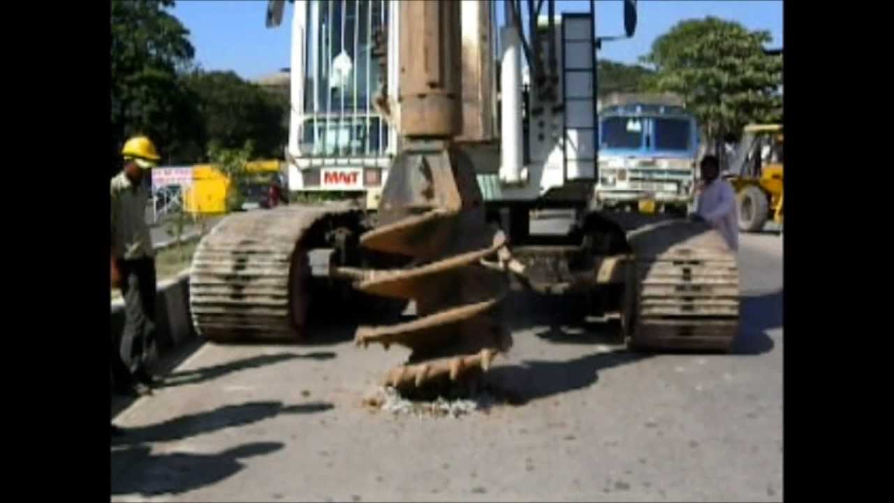 Rock Auger Pile Foundation Drilling Tools Ashok Industries
