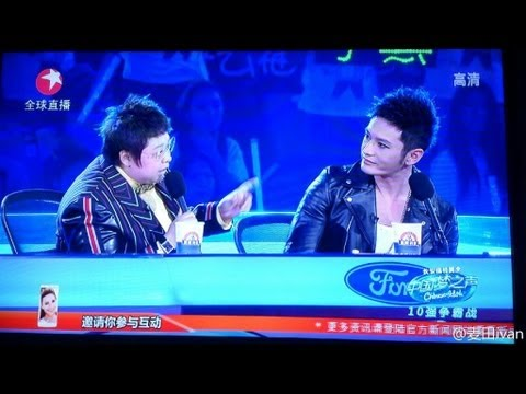 Huang Xiaoming 黄晓明 Chinese Idol 《中国梦之声》 - Episode from 21st July 2013 (full show) - 20130721 10强争霸战 Travel Video