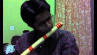 jaane kaha gaye woh din on flute
