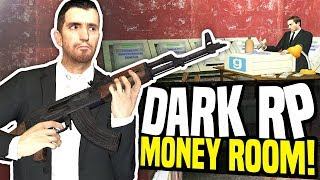 MONEY ROOM - Gmod DarkRP | Raided by Police!