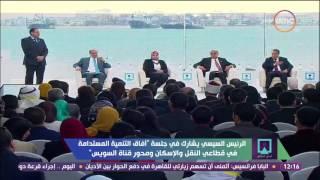 مؤتمر الشباب - الرئيس السيسى لوزير الإسكان