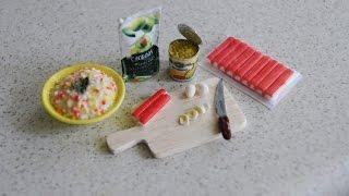 как сделать еду для кукол монстер хай из полимерной глины