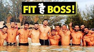 Virat Kohli, Bumrah flaunt abs as members of Indian team pose shirtless | Sports Tak