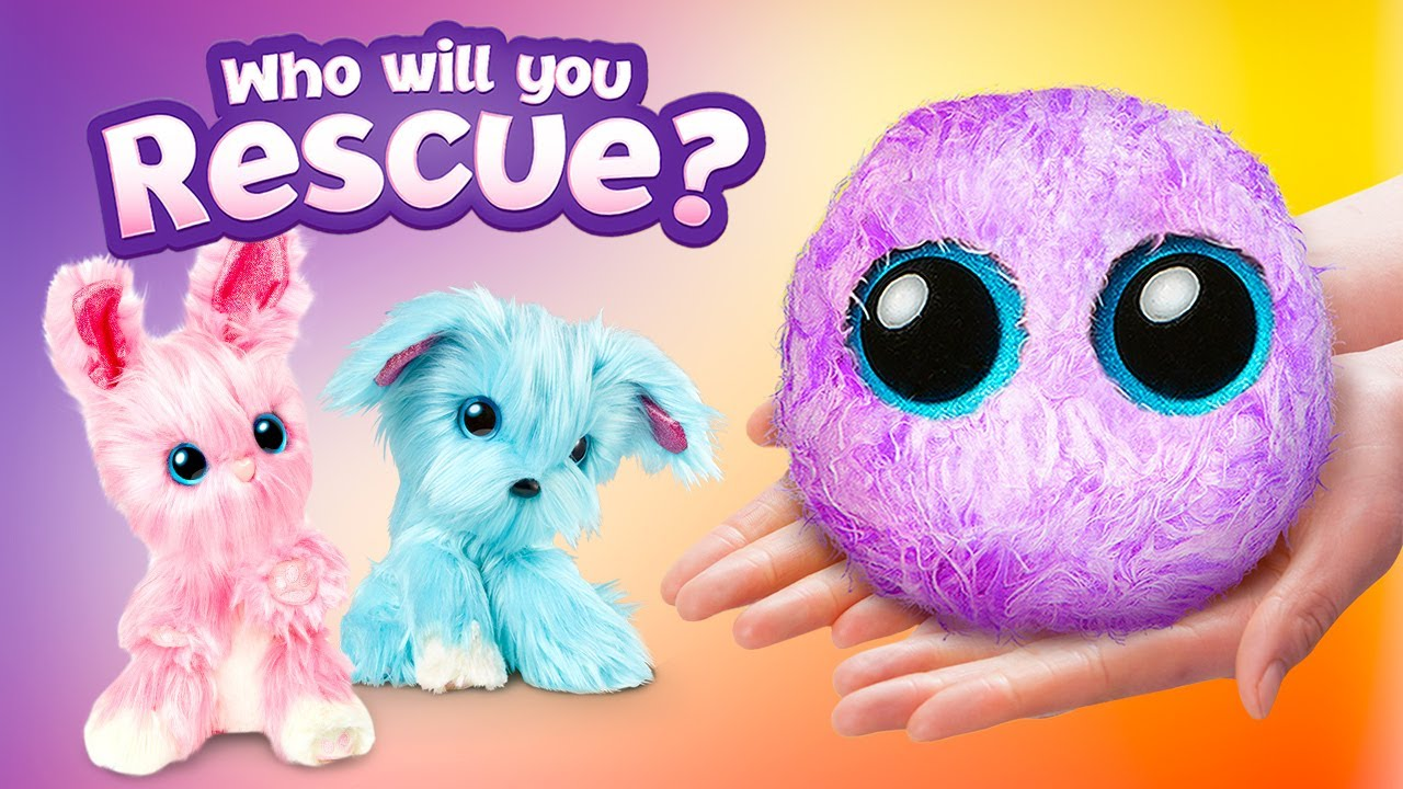 Pick Your New Pet And Rescue It! || Reveal Your New Fluffy SCRUFF-A-LUV