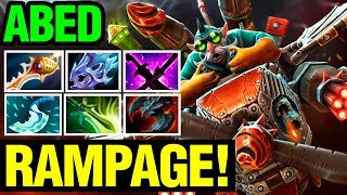 Abed Gyrocopter Is Completely Insane!! - Rampage Game - Dota 2