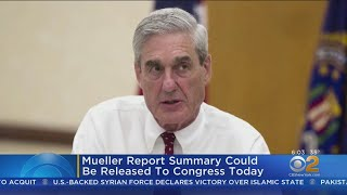 Summary Of Findings Of Mueller Report Expected