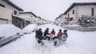 España   Meteorólogos advierten la llegada de una ola de frío tras el paso del temporal Filomena