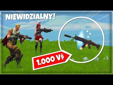 👻 CZŁOWIEK WIDMO CHALLENGE! - 1 KILL = 1.000 V-dolców - Fortnite Battle Royale