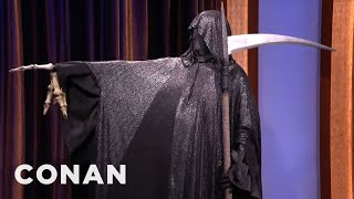 The Grim Reaper Stops By CONAN  - CONAN on TBS