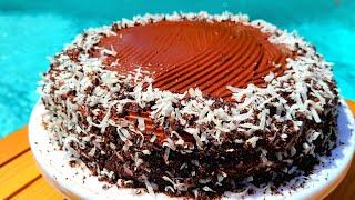 Этот шоколадно вишневый торт не успевает остыть Chocolate Cherry cake testy and delicious