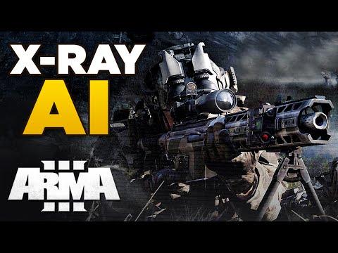 X-RAY AI | ARMA 3 can AI really see through trees?