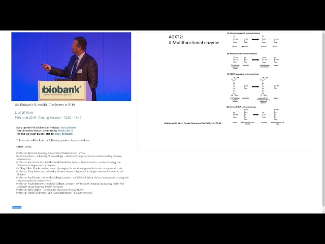 Dr Clary Clish - Strategies for conducting Metabolomics