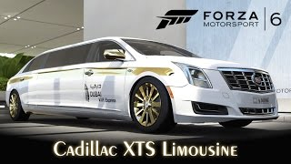 Cadillac XTS Limousine! | Tunando e Top Speed | Forza Motorsport 6 [PT-BR]