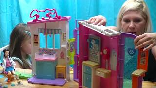 Barbie Domek Weterynarz Toy Pet Care Center