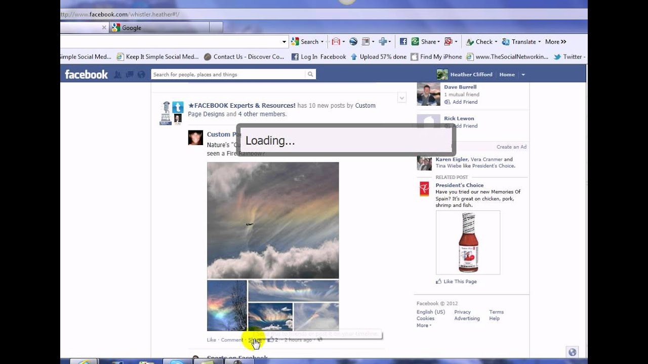 Sharing Posts From Your Personal Profile to Your Business Page on Facebook