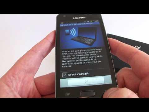 Samsung Galaxy R GT-I9103 hands on