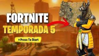 *TEMPORADA 5 FORTNITE BATTLE ROYALE* EN DIRECTO + SORTEO PASE DE BATALLA #168
