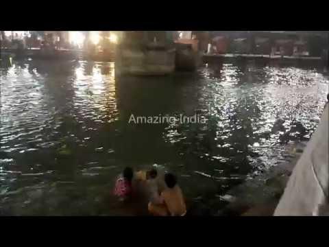 Night Ganga Bath , Har Ki Pauri , Haridwar...