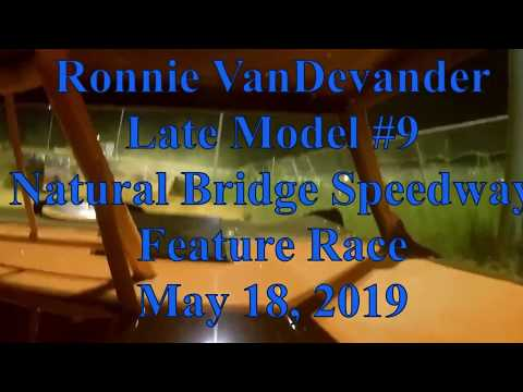 Ronnie VanDevander feature race at Natural Bridge Speedway - 5/18/19