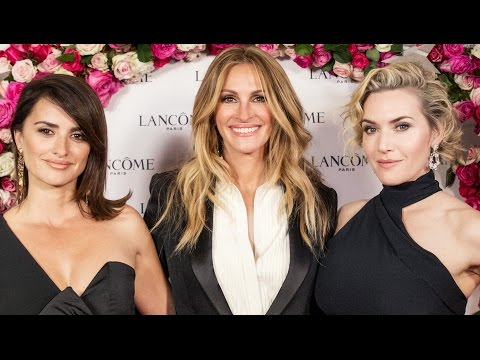 [LIVE] Stars & Wonder Lancôme Party con Julia Roberts, Penelope Cruz E Kate Winslet