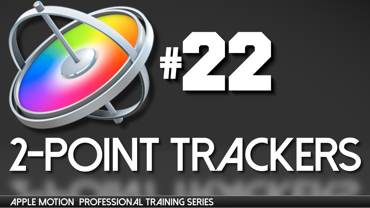 2 point tracker position rotation apple motion professional