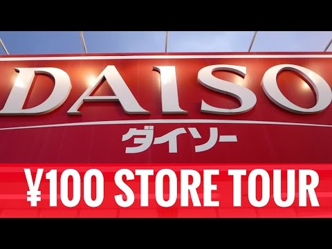 Japanese Dollar Store Tour // DAISO ¥100 Shop