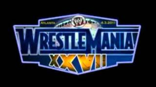 Wrestlemania 27 Theme Song Written In the Stars (Clean)