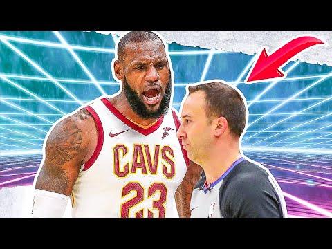 NBA Players Vs Referees: CRAZY Moments - Part 1