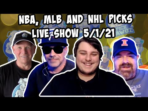 Live Sports Betting Picks 5/1/21 - NBA, MLB and NHL Picks