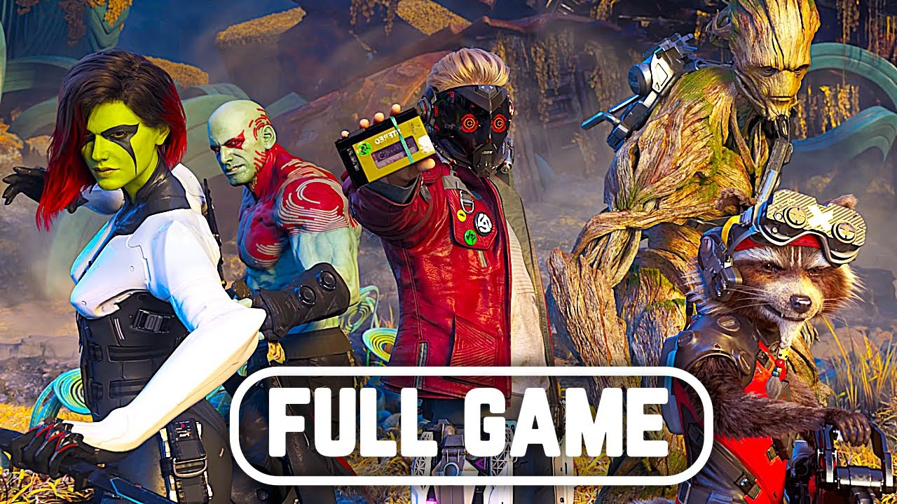 Download MARVEL'S GUARDIANS OF THE GALAXY Gameplay Walkthrough FULL GAME PS5 No Commentary