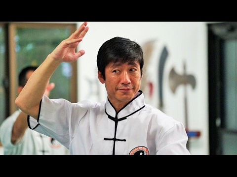 空手の達人が太極拳を習ってみた Karate master learns Kung-Fu, Naka sensei (JKA)