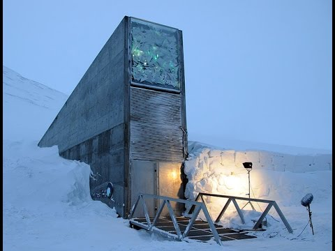 Svalbard Global Seed Vault Norway seed from all the world is hold ...