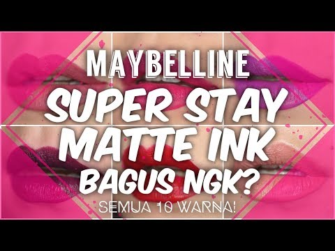 maybelline-super-stay-matte-ink-bagus-gak?- -review-&-swatches-(10-warna!)