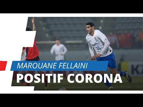 Mantan Pemain Manchester United, Marouane Fellaini Positif Terjangkit Virus Corona