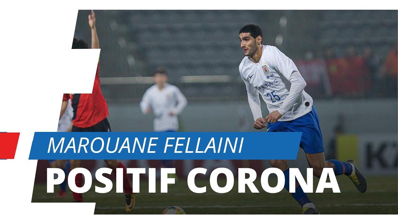 Mantan Pemain Manchester United Marouane Fellaini Positif Terjangkit Virus Corona