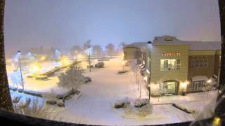 Triangle Snow Storm Time Lapse, February 2015