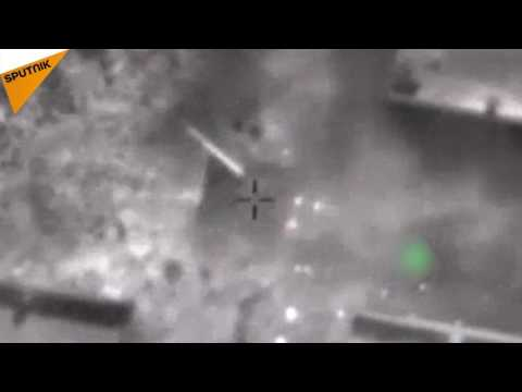 Israeli Air Force Attacks Syrian Army In Golan Heights