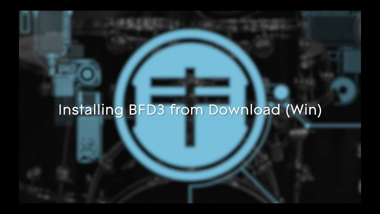 FXpansion BFD3 - Installing from Download on Windows