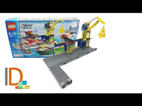 Lego 4645 City Harbour Dock Hafen Hafenanlage Slowbuild'n'Review german deutsch