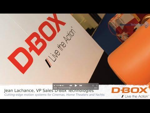 Genesis@ISE2016 - D-Box Technologies