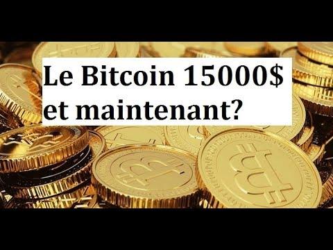 Le Bitcoin 15000$ Et Maintenant?