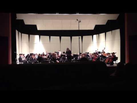 """Oak Valley Middle School Sinfonia- Aragonaise from """"Carmen"""""""
